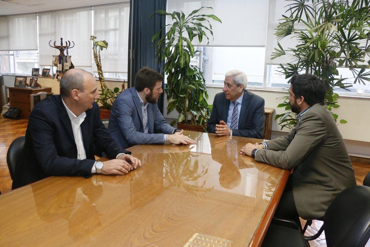 Grooming Argentina | Reunión con el Vicegobernador de Santiago Del Estero José Emilio Neder y el secretario de la Casa de Santiago, Bernardo Abruzzese